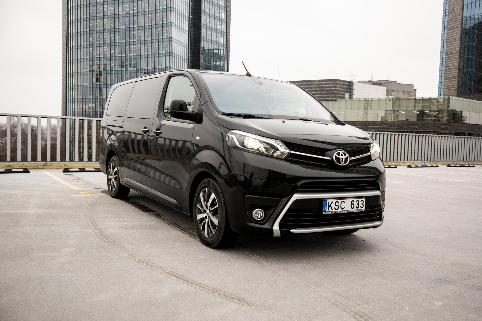 Toyota Proace Verso 2018 M. Automatinė